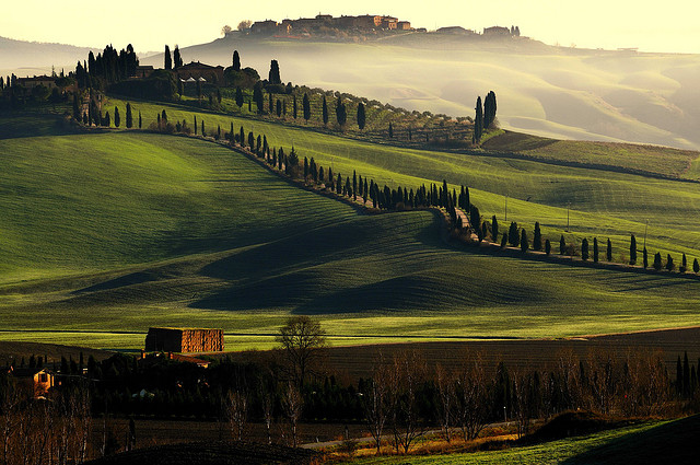Toscana landskap